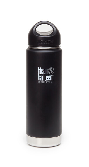 Klean Kanteen Wide Insulated Termoflaske med Loop Cap 592ml sort